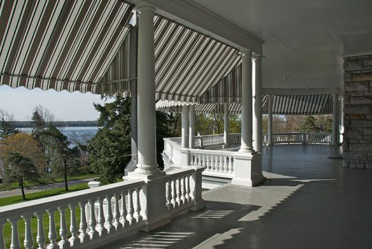Fulford Place, Brockville (veranda)
