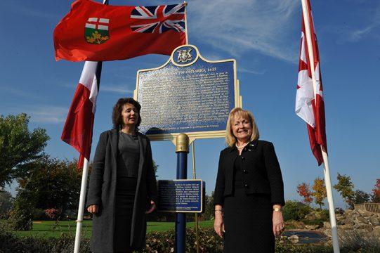 Honfleur Champlain Plaque Oct 12 2