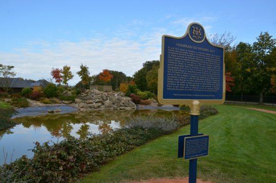 Honfleur Champlain Plaque Oct 12
