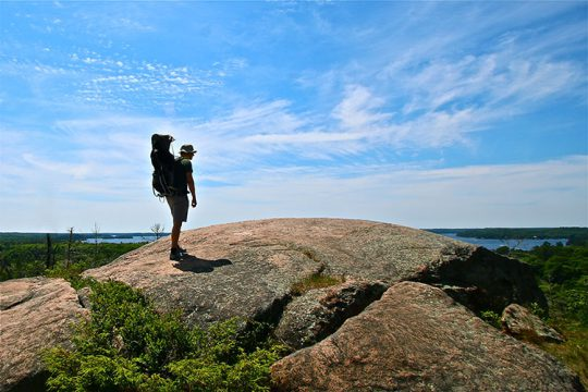 Huckleberry Rock Lookout Trail Bracebridge David Campbell