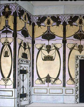 Décor aux scarabées de l'époque du vaudeville
