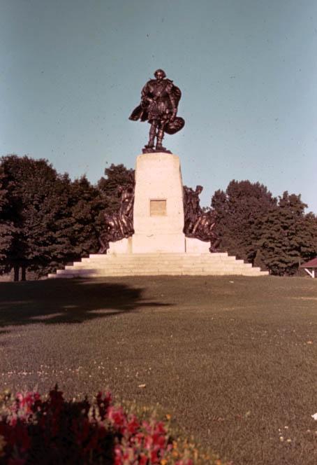Exh Champlain Art Champlain Monument Orillia