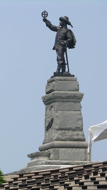 Exh Champlain Art Champlain Monument Ottawa