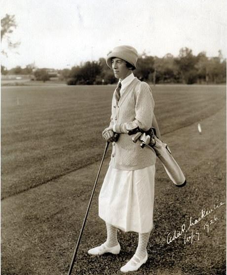 Ada Mackenzie, 1926 (Avec l'aimable autorisation des archives de Golf Canada)