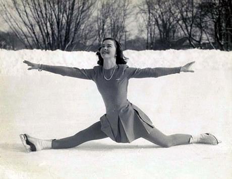 Barbara Ann Scott, c. 1947 (Photo courtesy of Canada's Sports Hall of Fame)