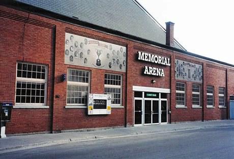 Exh Sport Belleville Memorial Arena Cb
