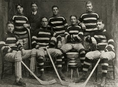1905 Stanley Cup champions (Photo courtesy of the Hockey Hall of Fame)