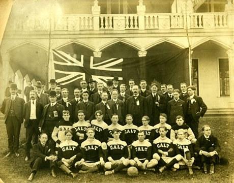 Exh Sport Galt Football Club Wrm