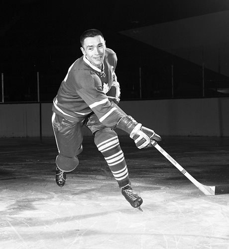 George Armstrong (Photo courtesy of Imperial Oil-Turofsky/Hockey Hall of Fame)