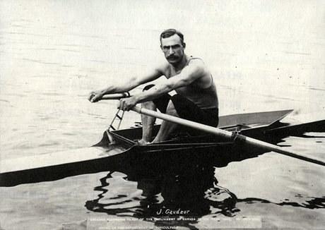Jake Gaudaur (Photo courtesy of Canada's Sports Hall of Fame)