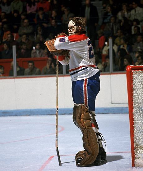 Ken Dryden (Photo courtesy of the Hockey Hall of Fame)