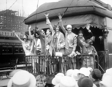Équipe olympique, 10 juillet 1928 (Avec l'aimable autorisation des archives de la ville de Toronto)