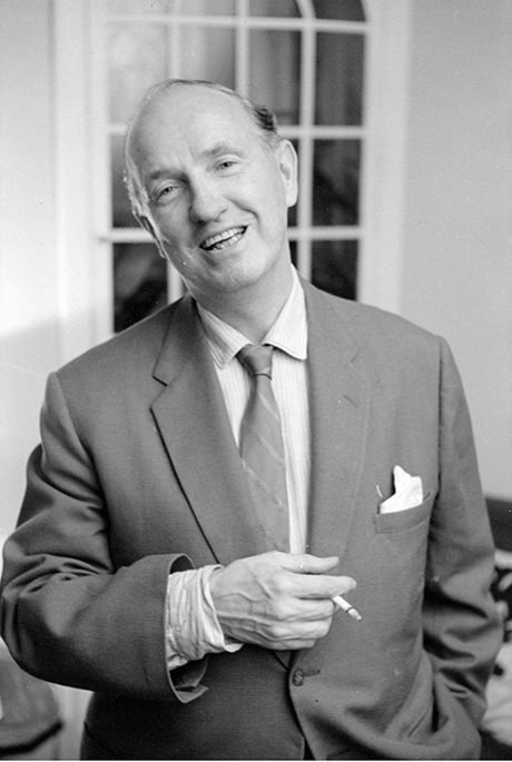 Morley Callaghan, 1960 (photo courtesy of Library and Archives Canada)