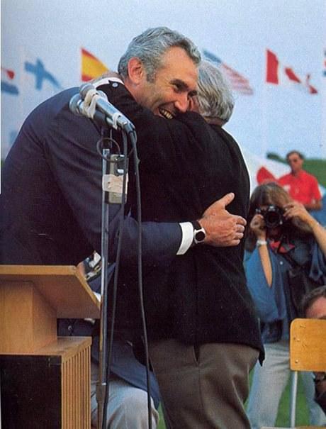 Robert Jackson lors des Jeux de Toronto en 1976 (Avec l'aimable autorisation du Comité paralympique canadien)