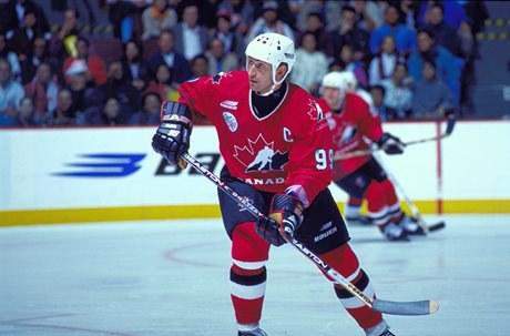 Wayne Gretzky (Avec l'aimable autorisation de Doug MacLellan, Temple de la renommée du hockey)