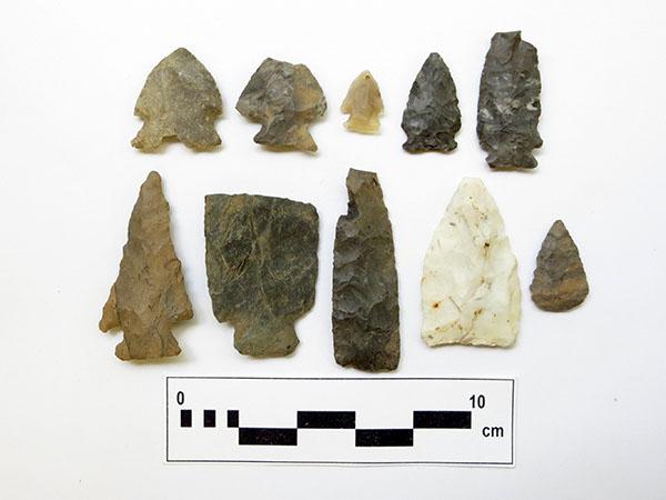 Outils de pierre