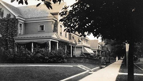 Edwardian home photo
