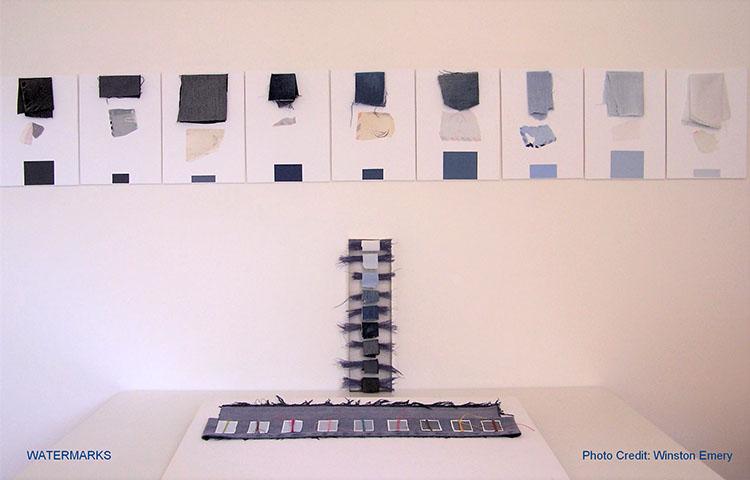 Watermarks, un installation par Carol Page