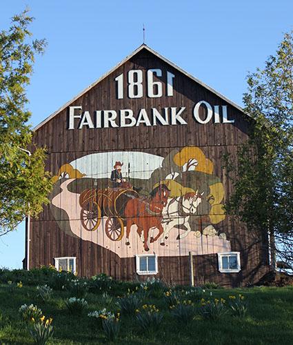 Fairbank Oil barn