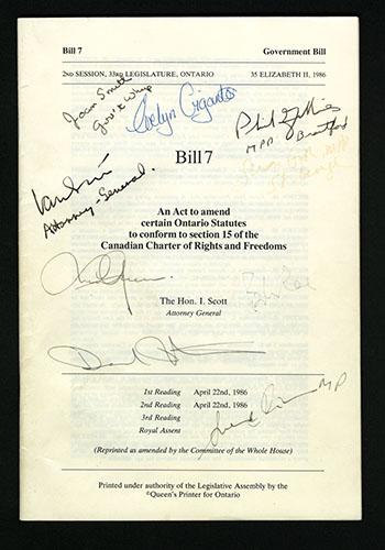 Bill 7