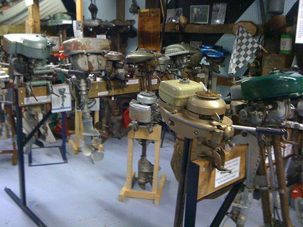 Exhibit of boat motors