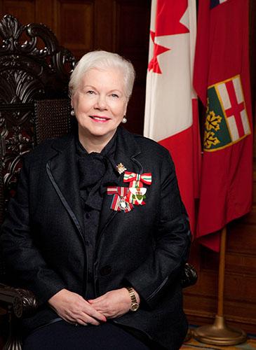 L'honorable Elizabeth Dowdeswell