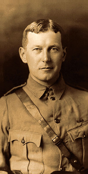 Lieutenant-Colonel John McCrae, 1872-1918