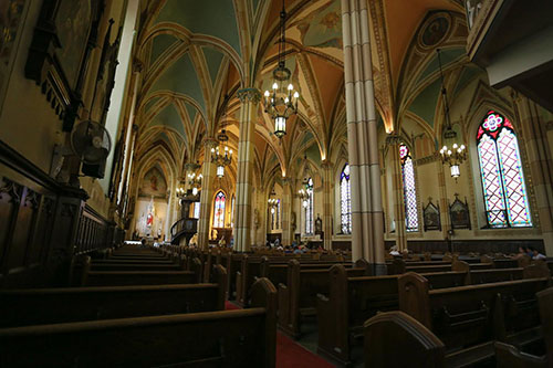 Our Lady of Assumption Catholic Church, interior