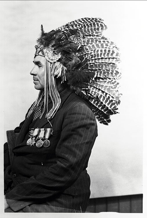 Chief Francis Pegahmagabow, 1889-1952