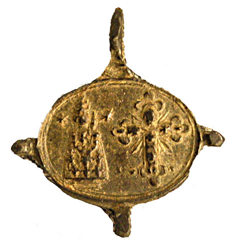 Jesuit medallion