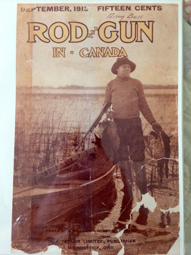 1913 cover of Rod and Gun magazine
