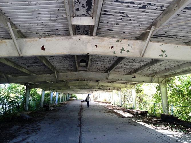Quai du traversier de l'île Boblo (2015)