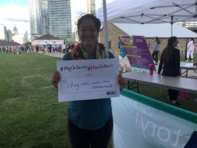 Gabriela Iglecias, Journée nationale des Autochtones à Fort York