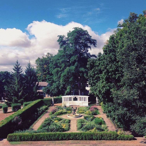 Olmsted gardens at Fulford Place, Brockville