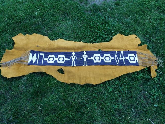 La ceinture wampum échangée au Traité de Niagara (1764)