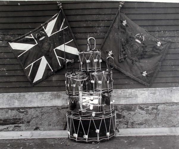 En train de remplir « MonOntario, c'est » au Fort York de Toronto lors de la Journée nationale des Autochtones