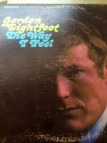 Couverture d'un disque de Gordon Lightfoot