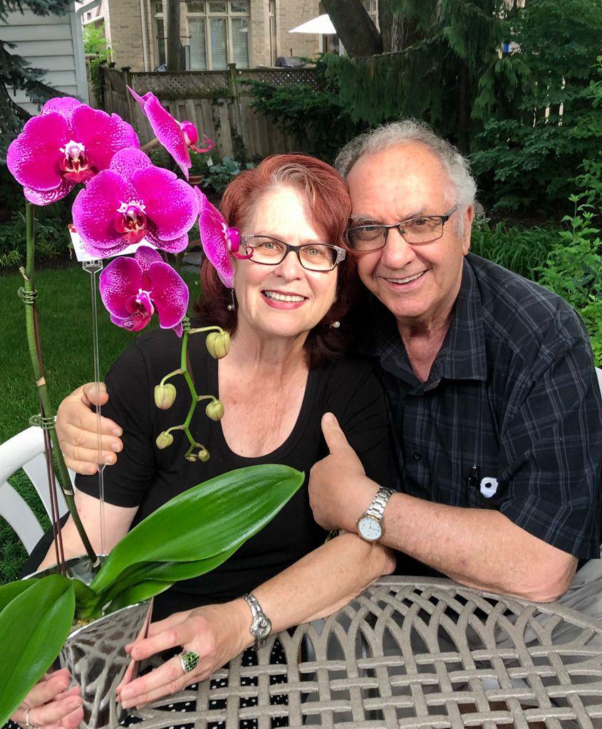 Henie Frances and her husband