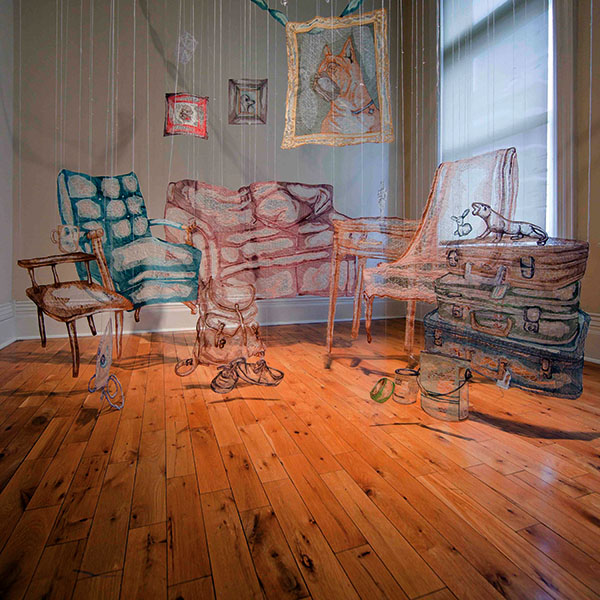 Living Room, by Amanda McCavour