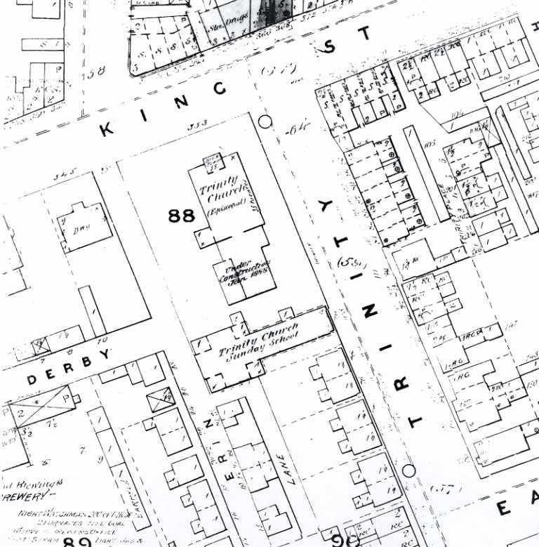Plan contextuel, école Enoch Turner (Toronto)