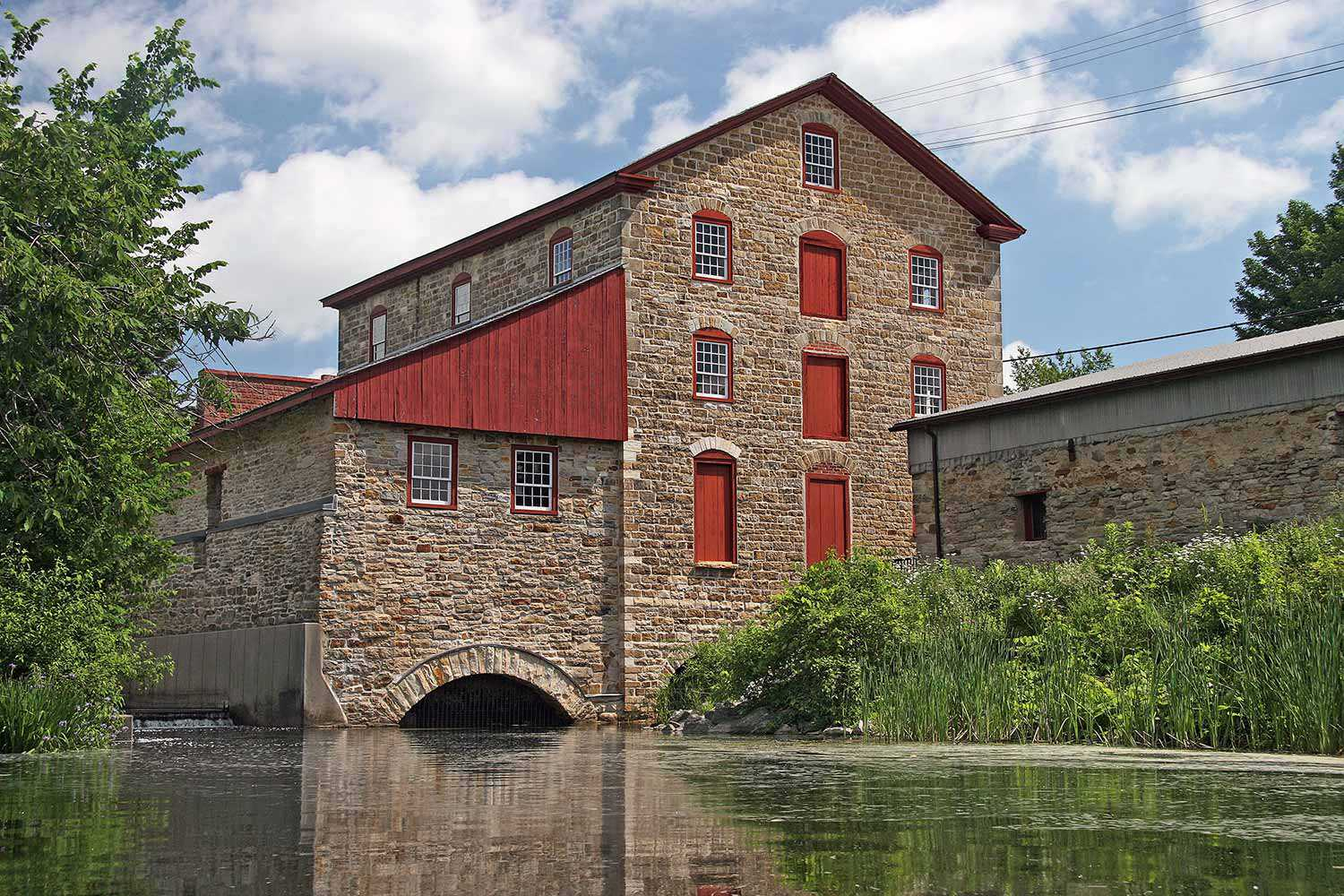 Old Stone Mill, Delta
