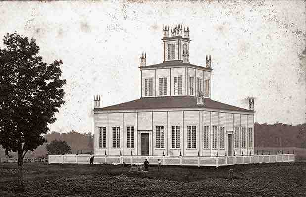 Sharon Temple, v. 1861 (Gwillimbury Est)