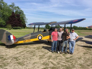 The Conservation of the Tiger Moth Aircraft by the Edenvale Classic Aircraft Foundation