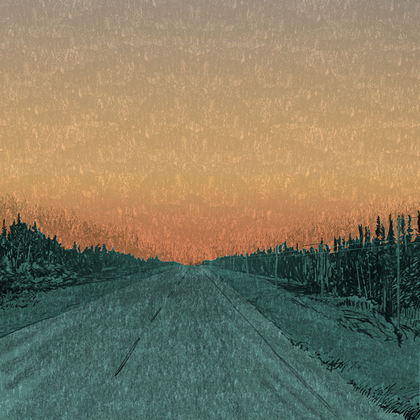 Highway 11, near Hearst (Illustration: Todd Stewart)