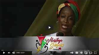Le jour de l'émancipation2020 : Heritage Singers Canada