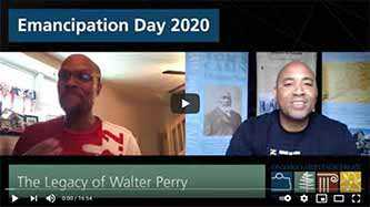 Emancipation Day 2020 video: Preston Chase