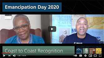 Le jour de l'émancipation2020 : La sénatrice Wanda Thomas Bernard