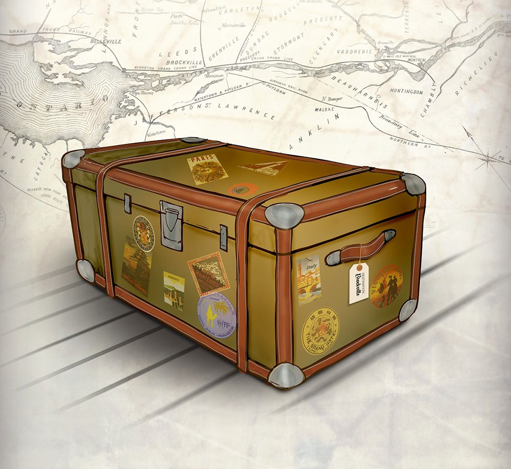 Travel Trunk: Unpacking Brockville's Cultural Stories