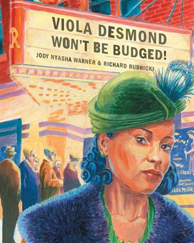 Viola Desmond Won't Be Budged book cover