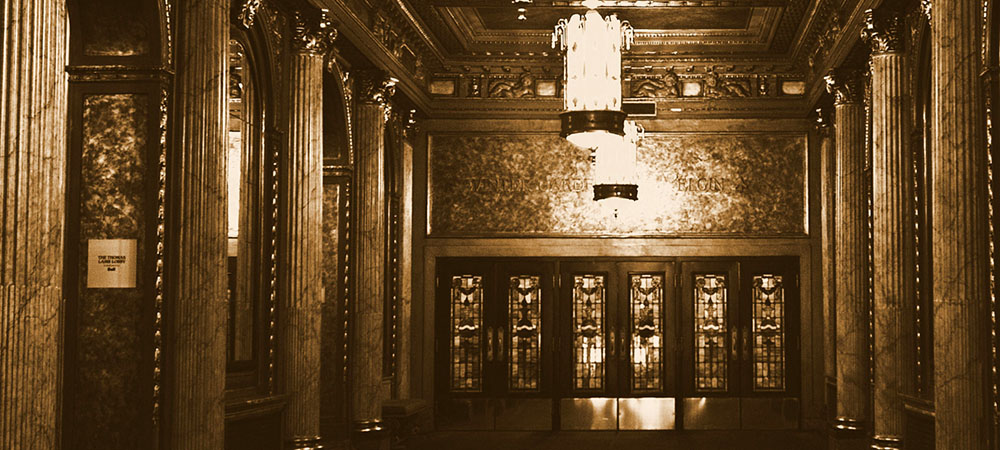 Lobby of the Elgin and Winter Garden Theatre Centre